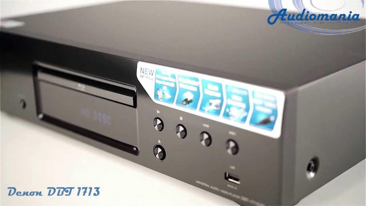 Panasonic DMP-BD45EE Blu-ray плеер - YouTube