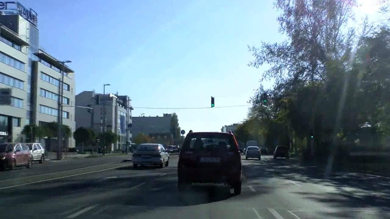 Budapest: Road #2 inbound + Ferdinánd bridge