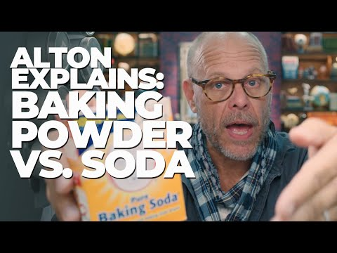 Baking Soda vs. Baking Powder with Alton Brown 🍰 GOOD EATS: THE RETURN EXCLUSIVE
