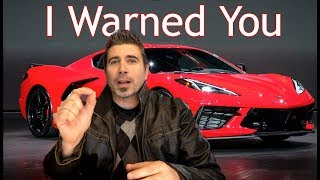 4 Reasons Not To Buy The C8 Corvette!
