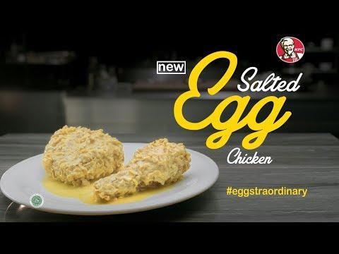 Mahakarya Terbaru KFC, Salted Egg Chicken #eggstraordinary