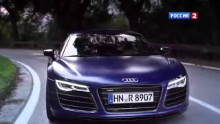 Тест драйв Audi R8 V10 Plus 2014