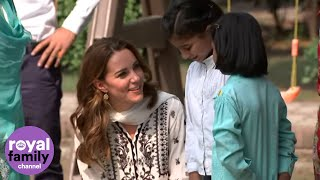 Duke and Duchess of Cambridge Make Unexpected Visit to Orphanage in Pakistan