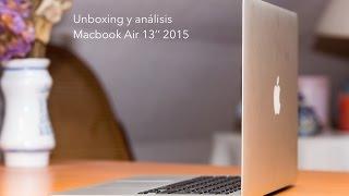 Unboxing y análisis Macbook Air 13'' 2015(Analizamos el nuevo Macbook Air de 13'' de 2015 que Apple ha lanzado al mercado el pasado 9 de marzo de 2015. La unidad que hemos probado es la de ..., 2015-03-17T17:53:50.000Z)