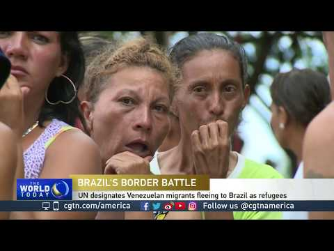 UN designates Venezuelan migrants fleeing to Brazil as refugees