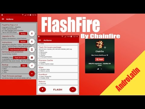 Review][Install] FLASHFIRE By Chainfire - YouTube