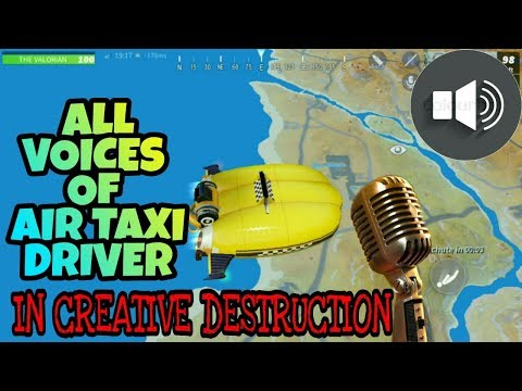 CREATIVE DESTRUCTION: ALL VOICES OF AIR TAXI DRIVERS!!!!!