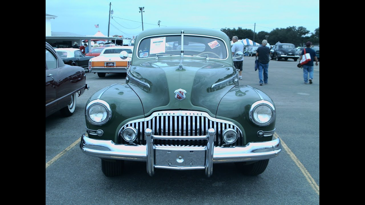 1942 Buick Century Fastback Four Door Sedan Grn Zh111513