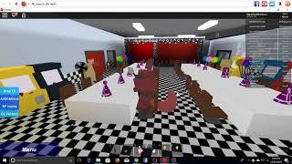 fnaf 6 Freddy fazbears pizzaria simulator Roblox map