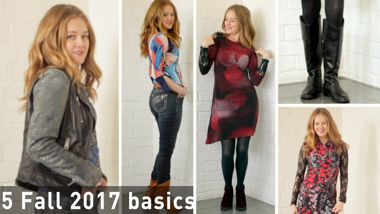5 Fall 2017 Basics For Women Over 40 Fashion For Women