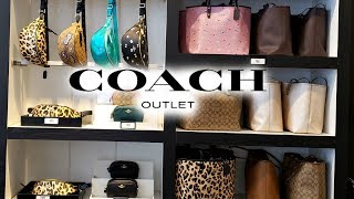 Coach OUTLET * NEW FINDS NEW DEALS * SHOP WITH ME AUGUST 2019