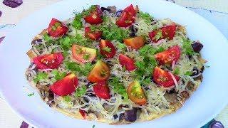 Омлет с баклажанами как с грибами - сытное и очень вкусное блюдо на завтрак за 10 минут!