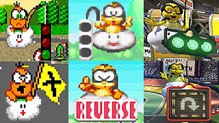 Evolution Of Lakitu In Mario Kart (Start Race, Rescue, Wrong Way, Final Lap & Finish) 1992-2017
