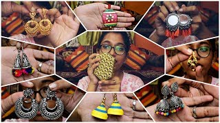 My Jewellery Collection|| Earrings,Neckpiece,Rings n more...