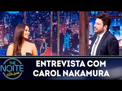 Entrevista com Carol Nakamura  The Noite 050419