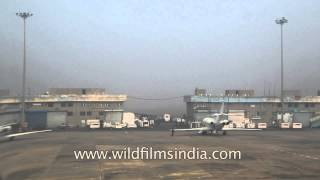 Runway of Indira Gandhi International Airport