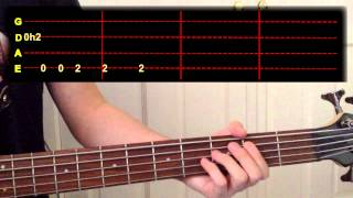 Kendrick Lamar - King Kunta Bass Cover (With Tab)