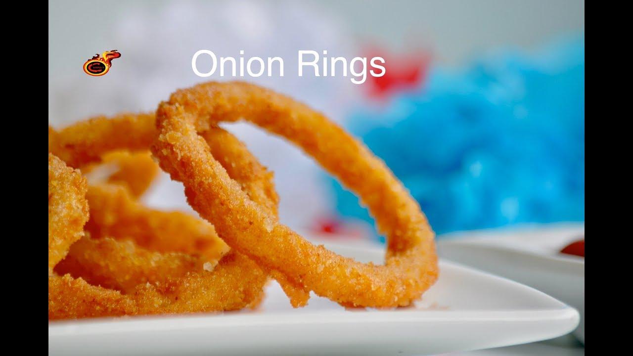 Perfect Crispy Onion Rings Eggless Crunchy Onion Rings Ep 480
