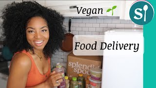 I Tried NEW Vegan HEALTHY MEAL DELIVERY SERVICE Splendid Spoon Taste & Review//smoothies, detox ETC.