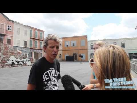 Interview with Warren Luff on Opening Day of Hollywood Stunt Driver 2