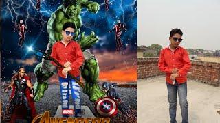 Avengers photo editing    PicsArt Photo editing tutorial 2018    photo editing tips and tricks    Sr
