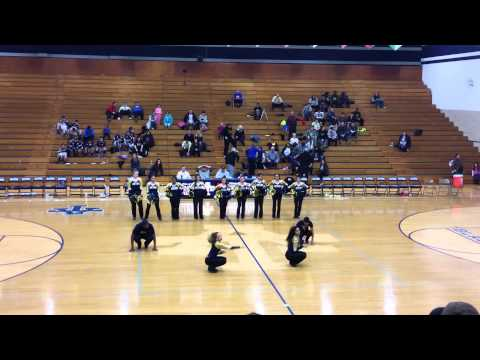 Addison Trail High School Blazettes SR 2015