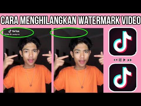 SIMPEL!! Cara Menghilangkan Watermark Tik Tok