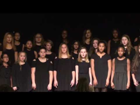 Hunt Middle School Combined Choir Directed by Taylor Weeks