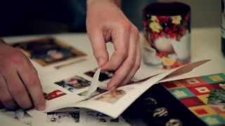 Наклейки на подарок со своими фотографиямм