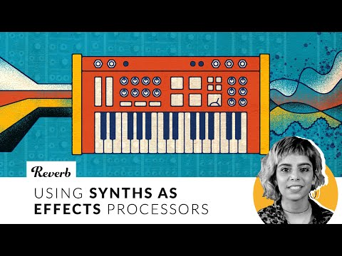 Using Synths as Effects Processors | Reverb