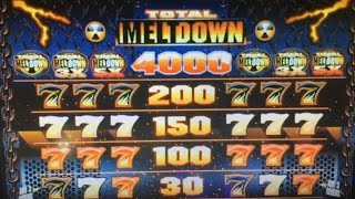Free Play Live★TOTAL MELTDOWN Dollar Slot Machine Max Bet $5 Harrah