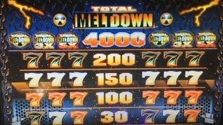Free Play Live★TOTAL MELTDOWN Dollar Slot Machine Max Bet $5 Harrah