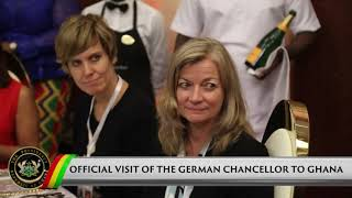 Presidential Diaries: Official Visit of the German Chancellor to Ghana