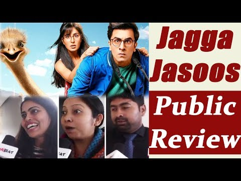 Jagga Jasoos Public Review   Ranbir Kapoor   Katrina Kaif   Movie Review   FilmiBeat
