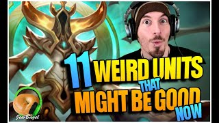 11 WEIRD units that MIGHT BE GOOD for artifact dungeons... (Summoners War)