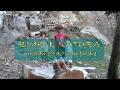 Bimbi e natura: arrampichiamo!