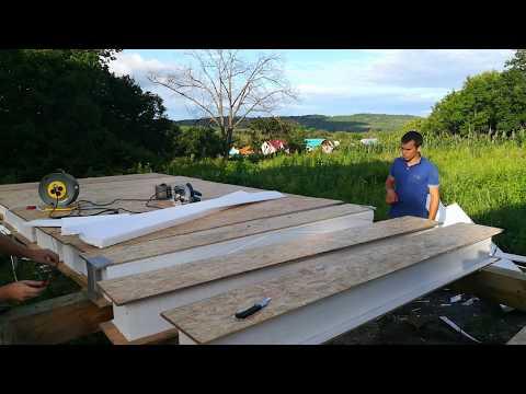 видео: Быстрый способ выборки пенопласта из СИП панели.