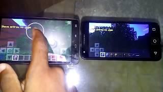 Como jogar Minecraft PE com seu amigo( ao lado ) pelo celular sem internet
