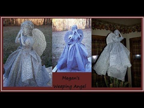 Weeping Angel Tree Topper - YouTube
