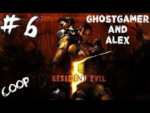 Прохождение Resident Evil 5 CO-OP - Часть 6 - Болото