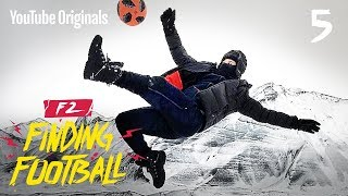 IMPOSSIBLE FOOTBALL ON ICE | F2FF ICELAND ⚽️🇮🇸