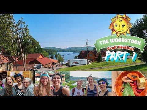 Woodstock Fruit Festival 2017 Vlog   Part 1   First 3 Days of Raw Vegan Madness!