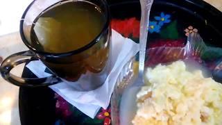 Яичная кашка (омлет). Завтрак или перекус - быстро!