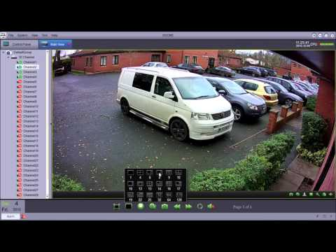 XIQ CMS CCTV Remote Viewing Software for Apple & Windows Computers