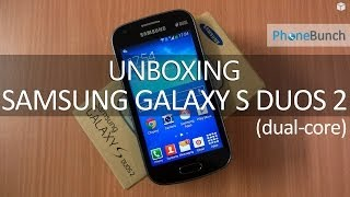 Samsung Galaxy S Duos 2 S7582 Unboxing and Hands-on