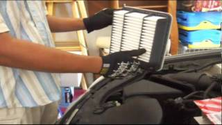 Lexus GS300, 2001 - Engine Air Filter Replacement (DIY $20-30, Save ~$80)
