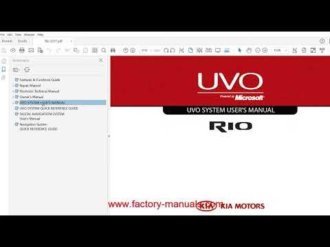 kia rio 2013 2014 2015 2016 2017 repair manual youtube rh youtube com service manual kia rio service manual kia rio