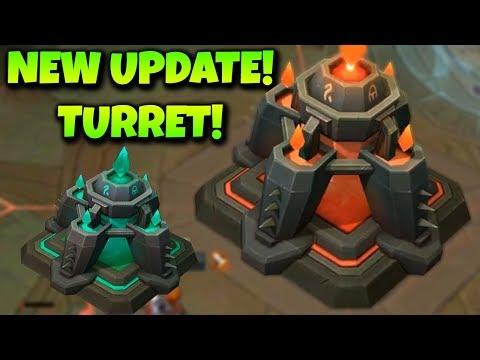 UPDATE!! NEW TURRET