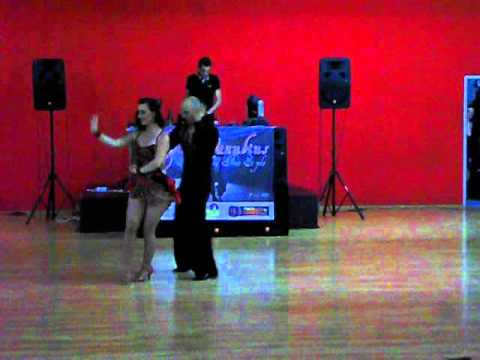 Daniel Ursachel & Laura Marilena Stanciu ( Galati ) Cupa Danubius- salsa free style