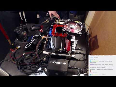 Overclocking Livestream 31: HWbot Division 4 / Fury X + FX 9590